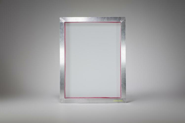 Cadre de s rigraphie a3 avec tissu 54t moyen - Cadre photo a3 ...